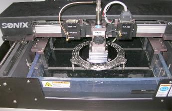 scanning acoustic microscope